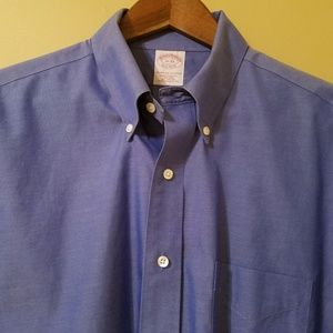Brooks Brothers Classic Blue Button Down Shirt
